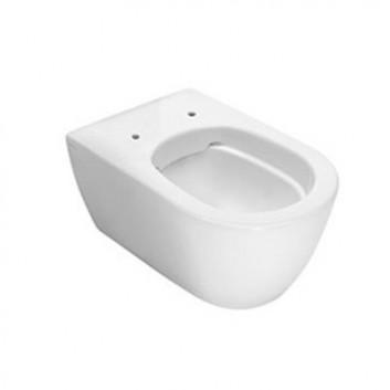 Mísa WC závěsná Hatria Fusion 355 x 540 mm závěsná bez kołnierza bílá