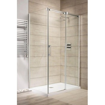 Dveře sprchové 140 levé Radaway Espera KDJ sklo čiré, profil chrom- sanitbuy.pl