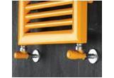 Souprava zaworów Irsap termostatických rohový - barva