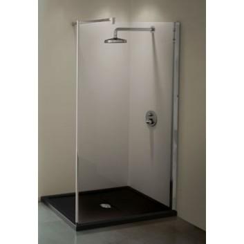 Ścianka stała prysznicowa Novellini Kuadra H 117-120 cm- sanitbuy.pl