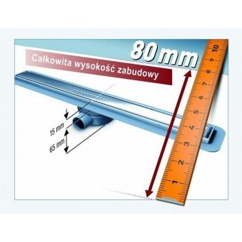 Lineární odtok 650mm System 125 Kessel LINEARIS Compact- sanitbuy.pl