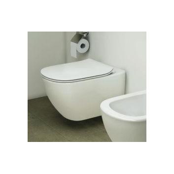 Závěsné wc Ideal Standard Tesi 53,5x36,5 cm Rimless bílá- sanitbuy.pl