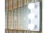 Nástěnné zrcadlo Flaminia Make-Up montáž poziom/pion, 150 x 100 x 3 cm, nie zawiera lamp- sanitbuy.pl